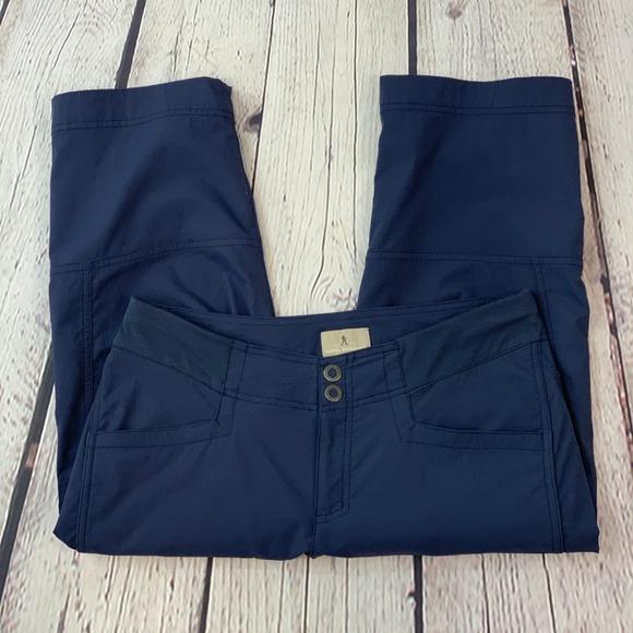 Royal Robbins Pants - Royal Robbins Navy Blue Capris